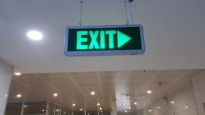 Đèn Exit chỉ dẫn thoát nạn Duhal