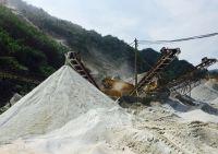 Cát nhân tạo - Công nghệ sản xuất cát nhân tạo