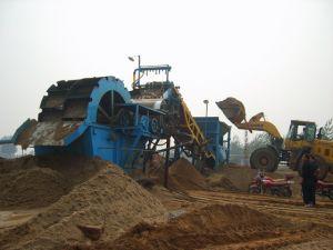 Máy rửa cát bánh quay