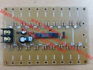 Mạch điều khiển công suất chạy led liền dây