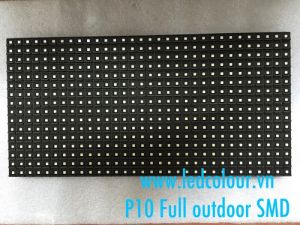 Module P10 Full màu SMD ngoài trời