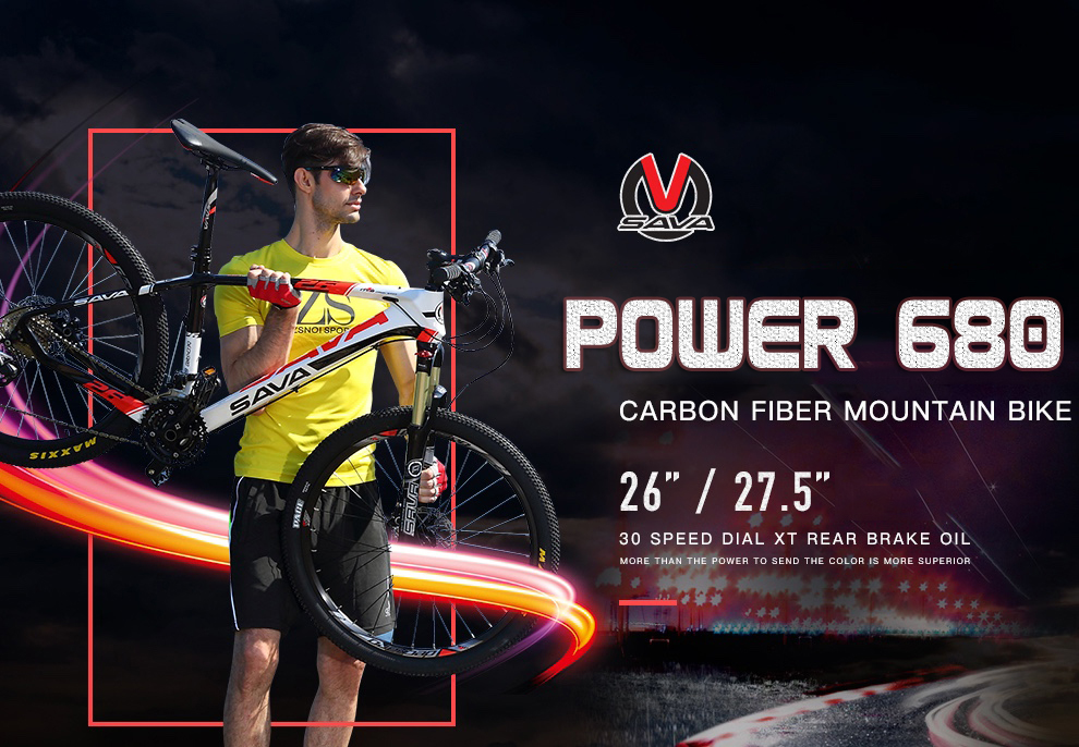 SAVA Carbon Power680