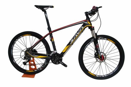 SAVA CARBON POWER580 Acera_27s Bánh 26""