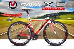 Xe đạp đua SAVA X5 Campagnolo Chorus_22s