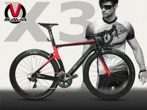 Xe đạp đua Carbon SAVA X3 - Ultegra R8000