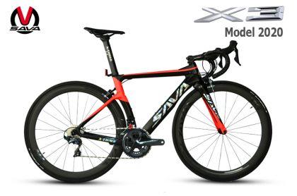 Xe đạp đua Carbon SAVA X3 2020- Ultegra R8000