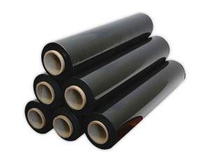 màng PE đen 3 lớp khổ 50- dày 17micromet