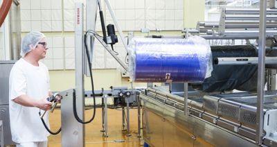 Bàn giao xe nâng cuộn màng cho nhà máy Unilever - CN Bắc Ninh