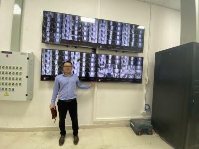 Bàn giao Camera giám sát an ninh cho tòa trung cư