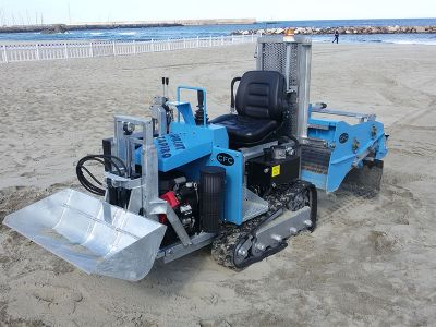 Lựa chọn Máy làm sạch bãi biển cho bãi biển Việt nam