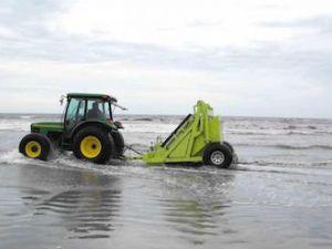 Máy làm sạch bãi biển HBARBAR MODEL 600 HD