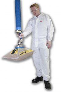 Thiết bị nâng chân không dùng nâng hạ bao đường, bao nguyên liệu.