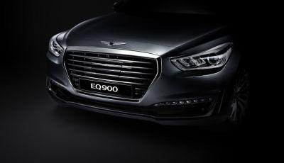 Hyundai Genesis G90 (EQ900) chính thức ra mắt, thay thế Equus, giá từ 61.000$ tại Hàn Quốc