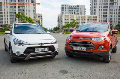 So sánh Hyundai i20 Active và Ford EcoSport: hai mẫu xe đi phố gầm cao lý tưởng trong thời điểm hiện tại