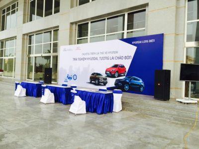 Drift xe Hyundai SantaFe - Kết thúc 2 ngày trải nghiệm lái thử xe Hyundai tại TP. Hưng Yên