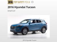 """Hyundai Tucson 2016 đạt giải """"SUV cỡ nhỏ an toàn nhất"""" của IIHS"""