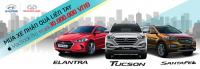 Mua xe Hyundai SantaFe, Tucson và Elantra 2016 trong tháng 9 sẽ nhận ngay ưu đãi 30 triệu đồng
