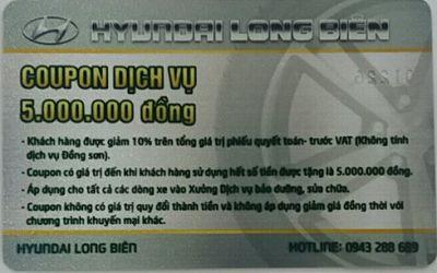 Ưu đãi khuyến mại tháng 10/2017 dành tặng khách hàng khi mua xe Hyundai