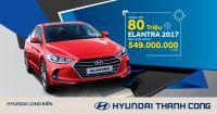 Hyundai Elantra khuyến mại đặc biệt giảm tới 80 triệu đồng, giá mới từ 549 triệu đồng