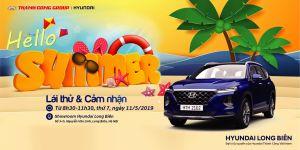 """Chào Hè cùng ''LÁI THỬ & CẢM NHẬN"""" xe Hyundai tại Showroom Hyundai Long Biên, thứ 7, ngày 11/05/2019"""