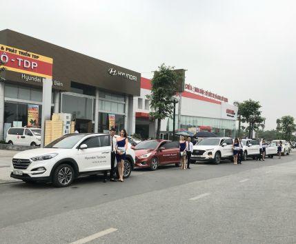 """ROADSHOW ''LÁI THỬ MÙA HÈ"""" tại Showroom Hyundai Long Biên, thứ 7, ngày 11/05/2019"""