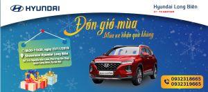 """Lái thử xe cùng Hyundai Long Biên - """"ĐÓN GIÓ MÙA MUA XE NHẬN QUÀ KHỦNG"""""""