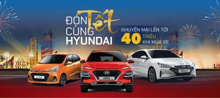 Chương trình khuyến mại lên đến 40 triệu đồng dành cho Hyundai KONA, Elantra và Grand i10