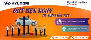 ĐẶT HẸN NGAY - ƯU ĐÃI LIỀN TAY | Hyundai Long Biên by TC MOTOR