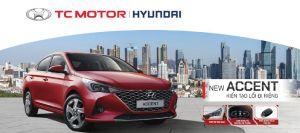 TC MOTOR chính thức giới thiệu HYUNDAI ACCENT 2021 phiên bản nâng cấp tại thị trường Việt Nam