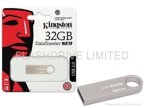 Bộ nhớ ngoài USB Kingston 32GB SE9 vỏ nhôm