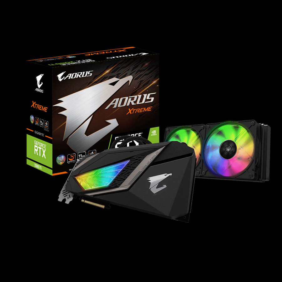 VGA GIgabyte AORUS GeForce RTX™ 2080 Ti XTREME WATERFORCE 11G