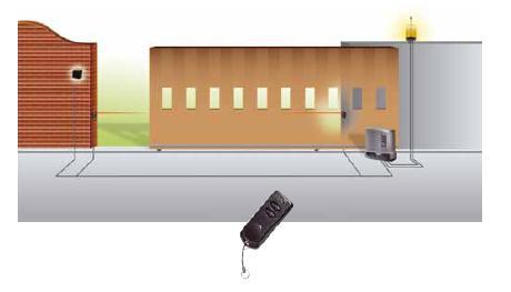 Cổng trượt tự động TAU T-ONE8