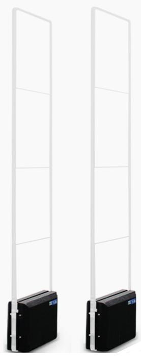 Bộ cổng an ninh - Style Crystal - Công nghệ hoàn toàn mới, bắt tem ở mọi góc độ EG-3388S