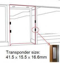 Bộ cổng an ninh - Loại gắn khung cửa mang