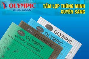 Tấm lợp thông minh Olympic Sunsheet