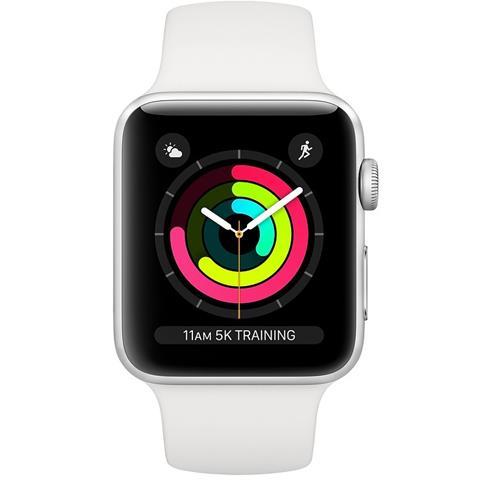 Apple Watch S3 GPS 38mm viền nhôm dây cao su New Fullbox TBH