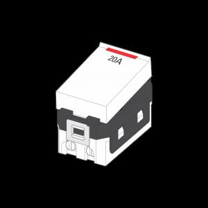 Công tắc 2 cực 20A có đèn báo S18HMD20/NS