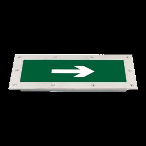 Đèn sự cố kiểu dẫn lối - Loại âm sàn