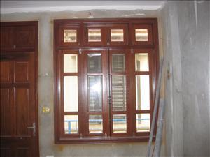 Khuân cửa gỗ 01