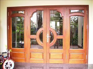 Khuân cửa gỗ 04