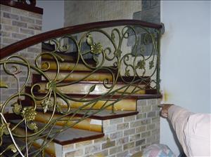 Cầu thang sắt 01