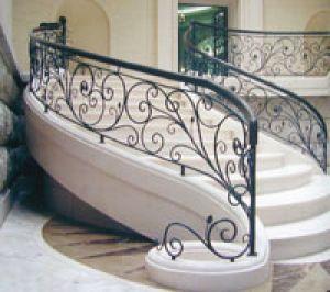 Cầu thang sắt 07