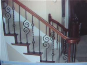 Cầu thang sắt 08