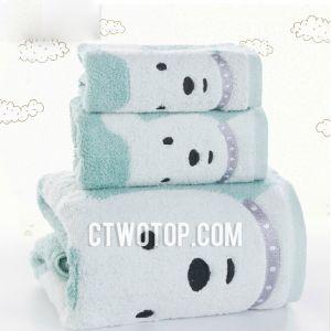 Khăn tắm gấu xanh
