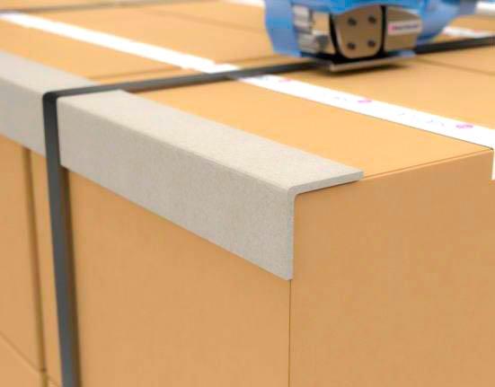 Ứng dụng nẹp góc Carton