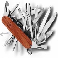 Dụng cụ xếp đa năng hiệu Victorinox Swiss Champ Hardwood