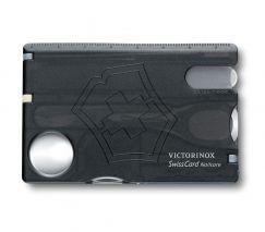 Dung cụ đa năng Swisscard Nailcare 0.7240.T3, màu đen