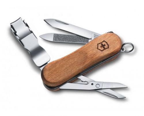 Dụng cụ đa năng Victorinox Nail Clip Wood 580