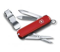 Dụng cụ đa năng Victorinox Nail Clip 580 màu đỏ