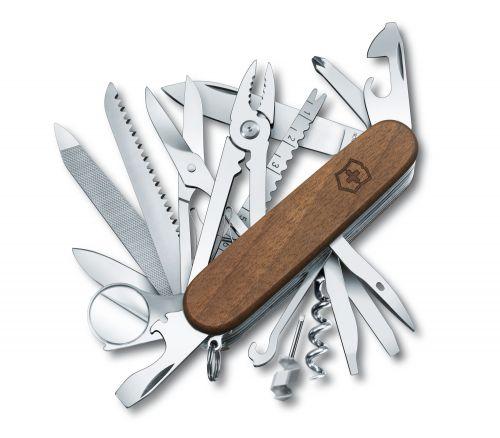 Dụng cụ đa năng Victorinox Swisschamp Wood, 1.6791.63